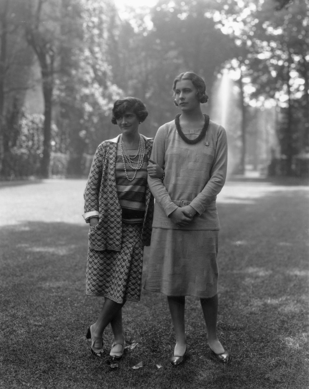 Lady Abdy and Gabrielle Chanel