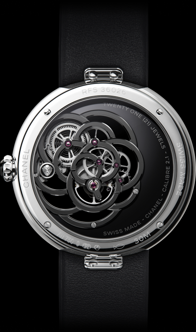 H5471 MADEMOISELLE PRIVÉ calibre 2 watch back view